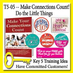 5-05 –Make Connections Count by Doing the Little Things